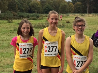 Under-13 Girls National Road Relays Team